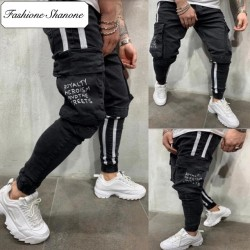 Fashione Shanone - Denim cargo pants