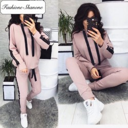 Fashione Shanone - Ensemble de jogging rose