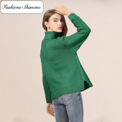Fashione Shanone - Oversize turtleneck sweater