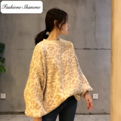 Fashione Shanone - Oversized leopard sweater