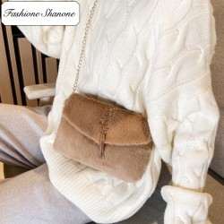 Fashione Shanone - Fur shoulder bag