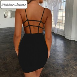 Fashione Shanone - Open back bodycon dress