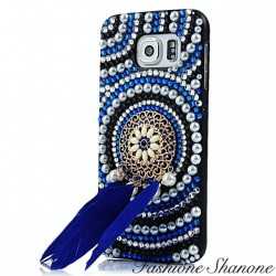 Indian phone case with Rhinestones