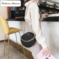 Fashione Shanone - Round wicker bag