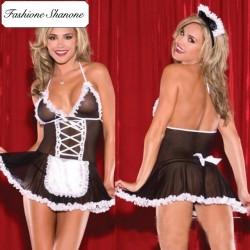 Fashione Shanone - French maid lingerie set