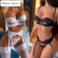 Fashione Shanone - Hollow out lingerie set