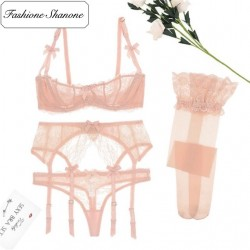 Fashione Shanone - Pink lace underwear set