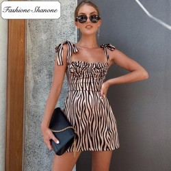 Fashione Shanone - Zebra dress