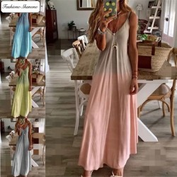 Fashione Shanone - Maxi gradient dress