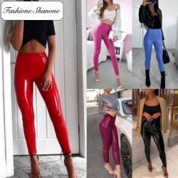 Fashione Shanone - Vinyl leggings