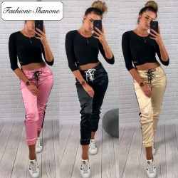 Fashione Shanone - Satin jogging pants
