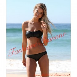 305 - Neoprene black swimsuit