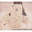 AH14 - Coque IPHONE perle et strass