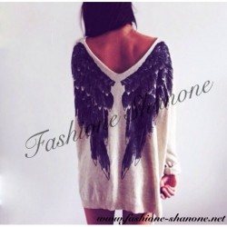 305 - Angel wings sweater